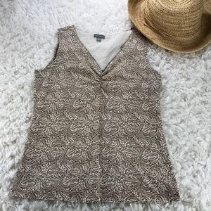 🛍3 FOR $25- ANN TAYLOR- COTTON CASUAL TANK